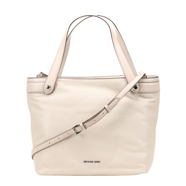 2cdbb212a31c Shop Michael Kors Hyland Medium Cement Convertible Tote Bag - Free ...
