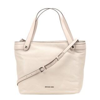 Michael Kors Hyland Medium Cement Convertible Tote Bag