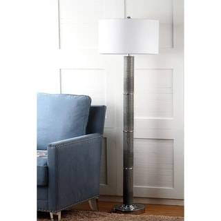 Safavieh Lighting Marcello 60.5-Inch Faux Alligator Floor Lamp