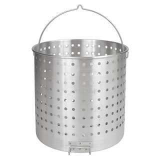 Bayou Classic Stainless Steel 162-quart Perforated Basket with Helper Handle