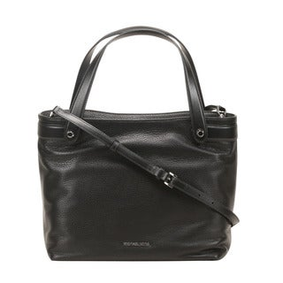 Michael Kors Hyland Medium Black Convertible Tote Bag