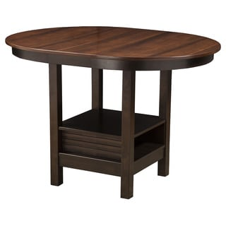 Alpine Davenport Oval Pub Table