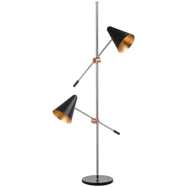 Safavieh lighting reed 71 inch floor lamp free shipping for Cirrus bronze floor lamp