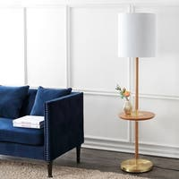 Safavieh Lighting 65-inch Brown Janell Floor Lamp