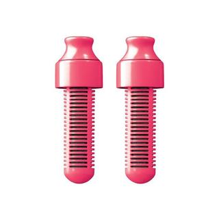 Bobble Pink Plastic Replaceable Water Filter (Set of 2)