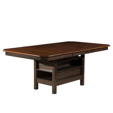Alpine Davenport Extension Dining Table - Espresso