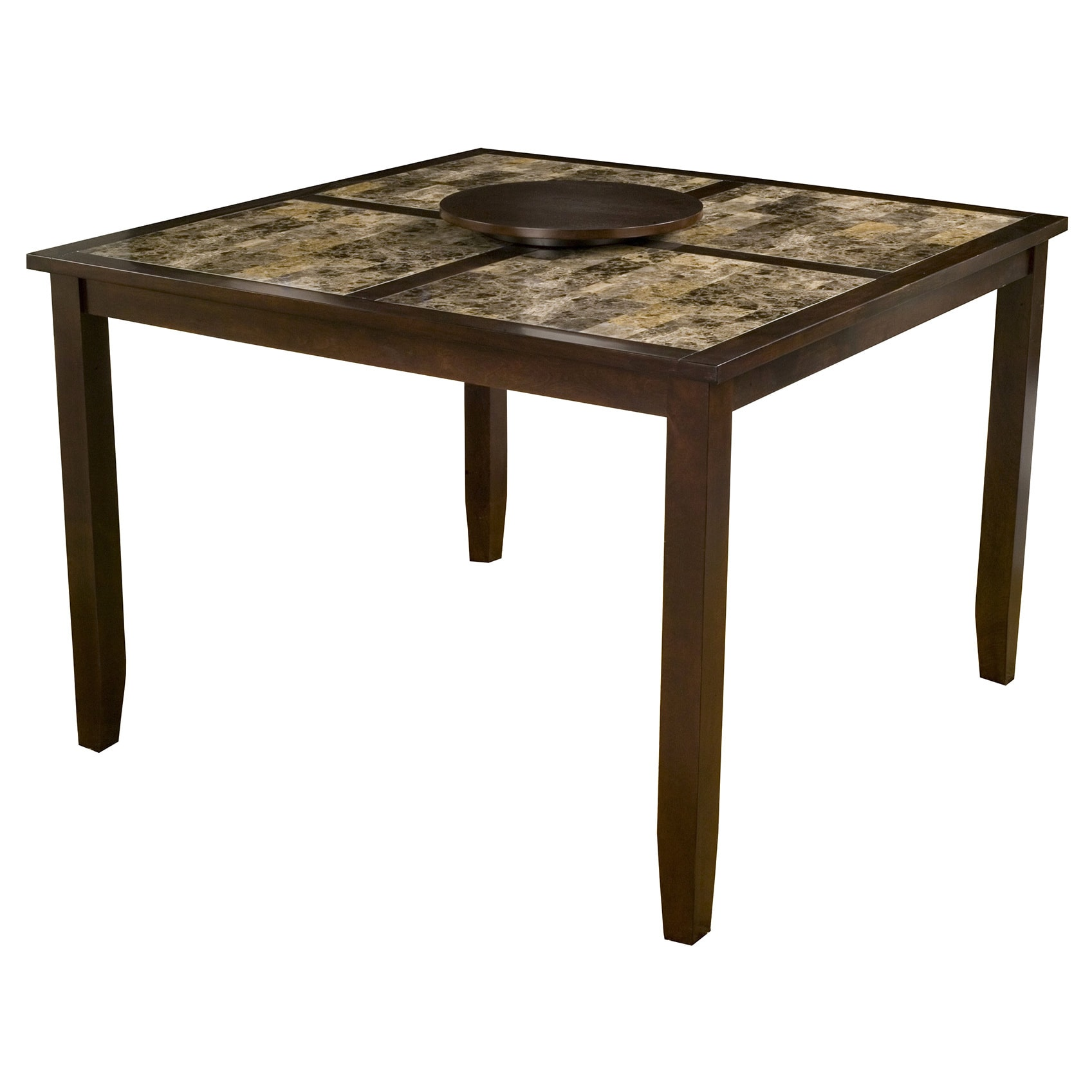 Alpine Furniture Alpine Capitola Faux Marble Pub Table (C...