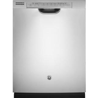 GE Front Control Dishwasher in Stainless Steel with Stainless Steel Tub - Stainless Steel