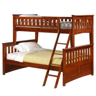 Ginger Cherry Twin/Full Bunk Bed