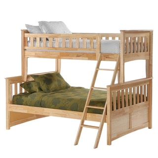 Ginger Natural Twin/Full Bunk Bed