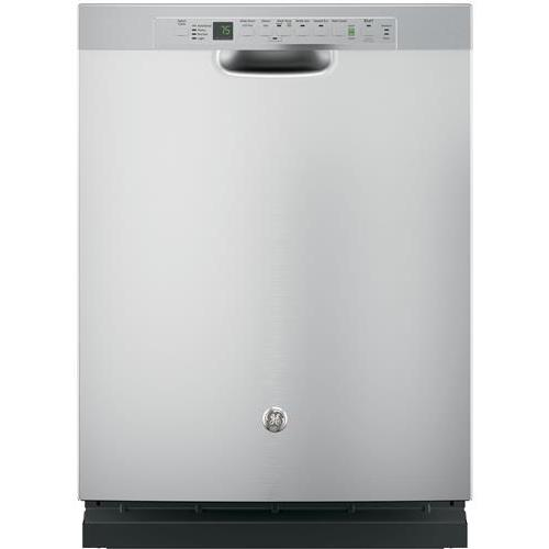 GE Stainless Steel Dishwasher with Hidden Controls - Stainless Steel Stainless Steel