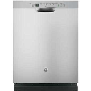 GE Stainless Steel Dishwasher with Hidden Controls
