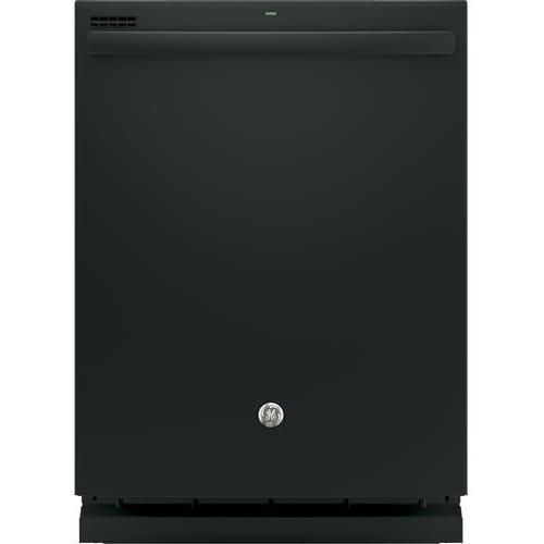 GE Dishwasher With Hidden Controls (Black) (Plastic)