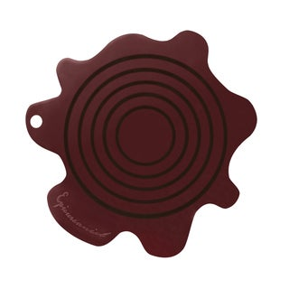 Epicureanist Red Silicone Splat Coasters (Set of 10)