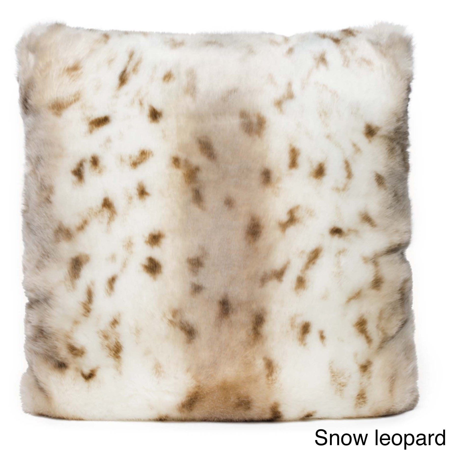 Baltic Linen Luxury Quality Animal-print Faux Fur and Dow...