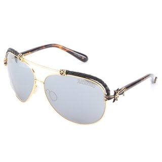 Affliction Baxter-A Tortoise and Gold Unisex Sunglasses