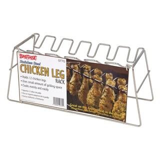 Bayou Classic Stainless Steel Chicken 12-leg Leg Rack