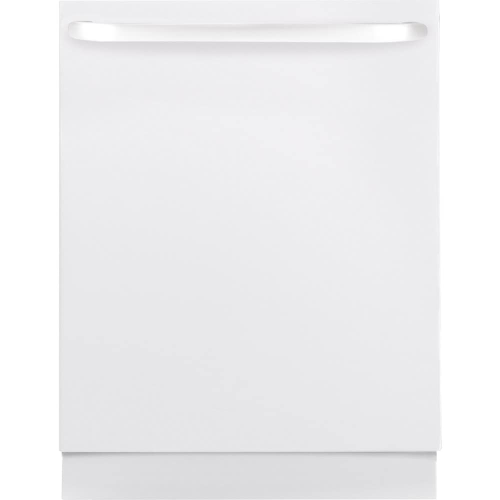 GE  Built In Dishwasher With Hidden Controls (White)