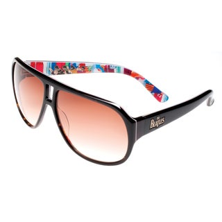 Deluxe Comfort Unisex Tortoise Plastic 'The Beatles' Collectible and Limited Edition Sunglasses - M