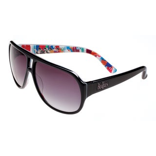 The Beatles Sunglasses Unisex BYS005 Collectible and Limited-edition Black Metal and Plastic Sunglasses - M