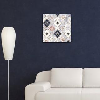 Oliver Gal 'Rose Quartz Moroccan'  Canvas Art