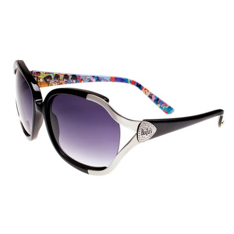 Deluxe Comfort The Beatles Sunglasses BYS009 Black Unisex Collectible Limited-edition Sunglasses - M