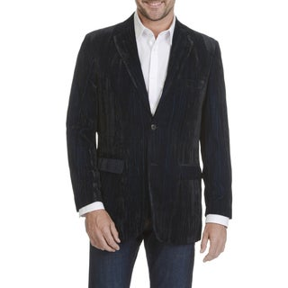 Blue Martini Men's 2 Tone Velvet Sportscoat