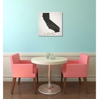 Oliver Gal 'California Love'  Canvas Art