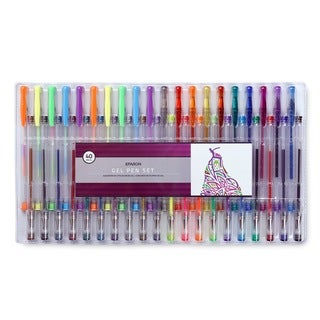 Eparon 40-piece Gel Pen Set with 40 Unique Colors