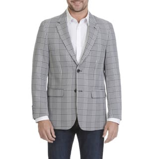 Blue Martini Men's Houndstooth Polyester and Rayon Sports Coat|https://ak1.ostkcdn.com/images/products/13435489/P20127182.jpg?impolicy=medium
