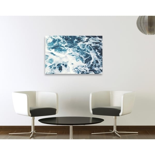 Oliver Gal 'Mykonos Water I' Beach and Coastal Gallery Wrapped Canvas Art