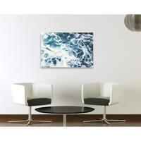 Oliver Gal Mykonos Water I Canvas Art - Blue