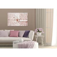 Oliver Gal Love Force Field Rose Gold Canvas Art