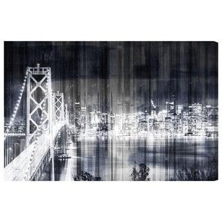 Oliver Gal City Lights Never Sleep Canvas Art