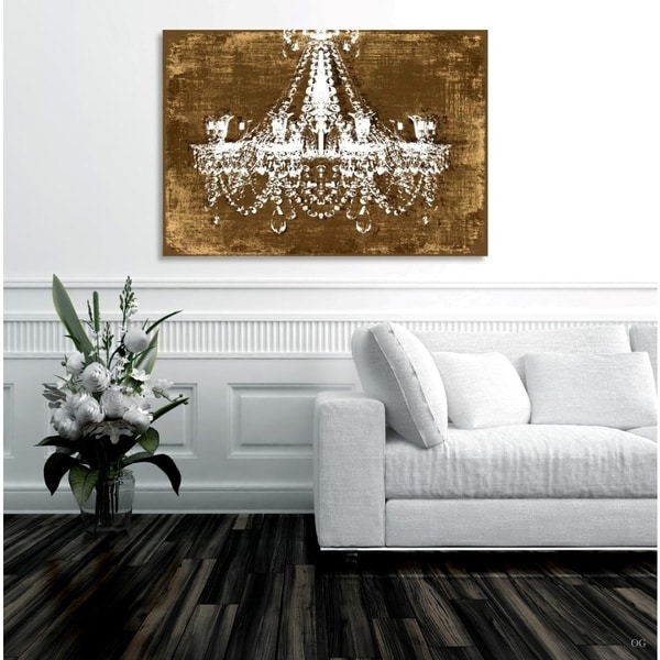Home Goods Artwork: Shop Oliver Gal Chandelier