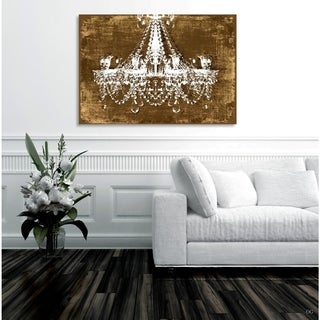 Oliver Gal Chandelier - Homegoods Canvas Art