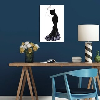 Oliver Gal Black Dress - Gill Bay Canvas Art