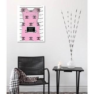 Oliver Gal Pink Gummy Rev Canvas Art