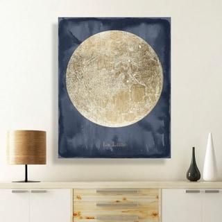 Hatcher and Ethan La Luna Canvas Art
