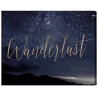 Oliver Gal 'Wanderlust Stars'  Canvas Art