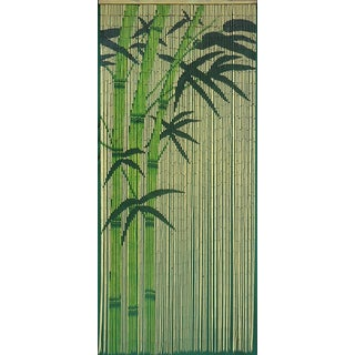Handmade Green Rayon from Bamboo Curtain (Vietnam)