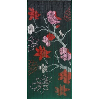 Handmade Gothica Flower Curtain (Vietnam)