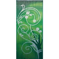 Handmade Green Dreams Curtain (Vietnam)