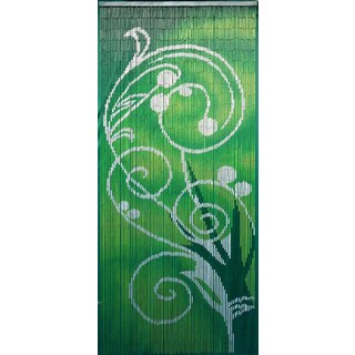 Handmade Green Dreams Curtain (Vietnam)
