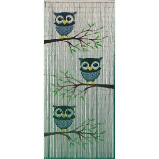 Handmade Cute Owl Curtains (Vietnam)
