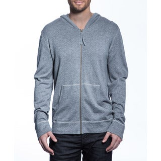 Men's Cashmere Blend Zip-Up Hoodie
