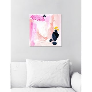 Link to Oliver Gal 'Happy Life' Abstract Wall Art Canvas Print - Pink, Orange Similar Items in Vinyl Wall Art