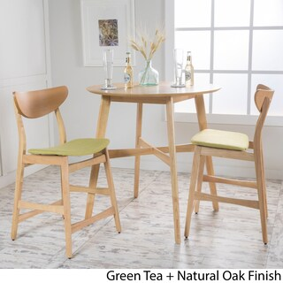 Gavin 3-piece Wood Counter-height Round Dining Set by Christopher Knight Home (3 options available)