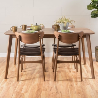 Anise 5-piece Wood Rectangular Dining Set by Christopher Knight Home