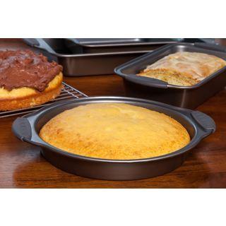 Iris Aluminum 9-inch Round Cake Pan